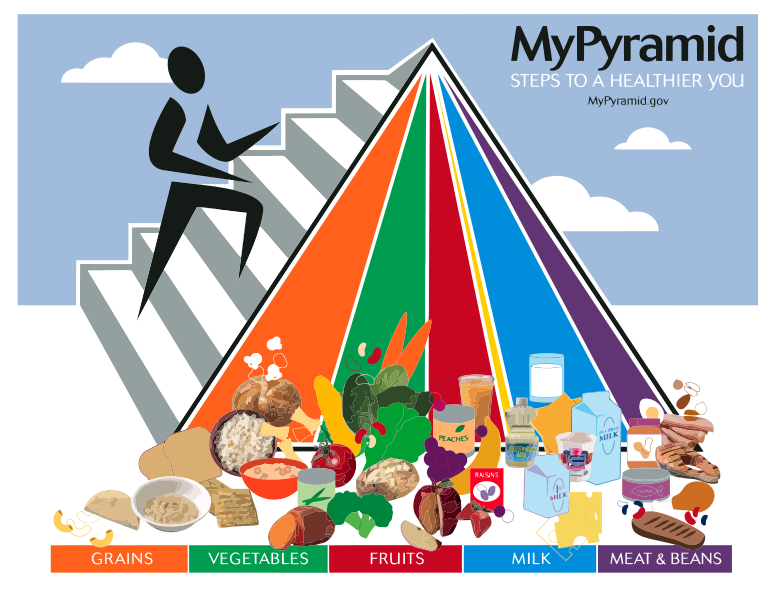 USDA Food MyPyramid Food