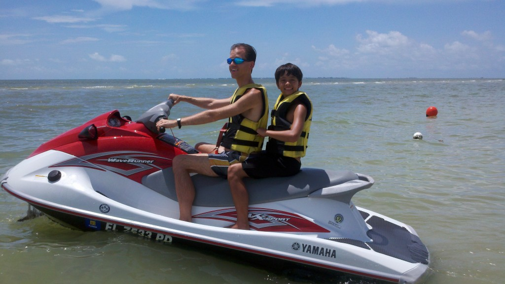 Waverunner with Brayan